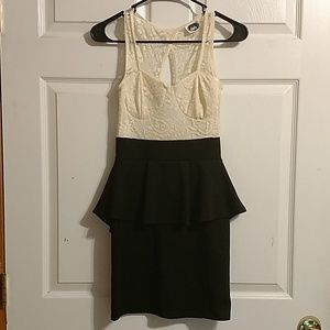 DEB size small dress